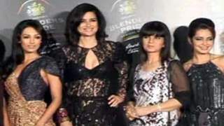 Malaika, Mugdha, Sushma and Perizaad at Blenders tour launch
