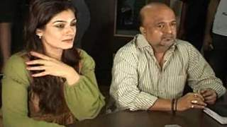 Raveena Tandon charmed at the Song Recording of her comeback film 'Agni'