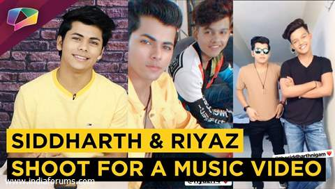Siddharth Nigam And Riyaz Aly Shoot For Tony Kakkar's New Music Video