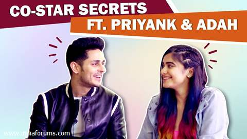 Priyank Sharma & Adah Sharma's Co-Star Secrets | First Impression, Retakes & More | Holiday