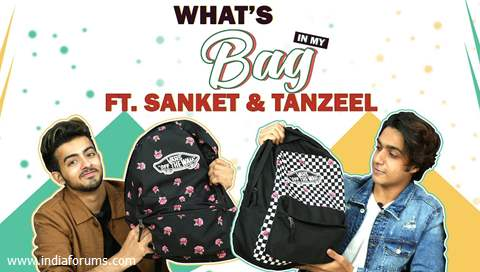 What's In My Bag Ft. Tanzeel Khan & Sanket Mehta (Swapped) | Bag Secrets Revealed