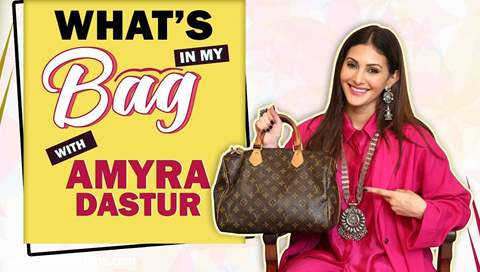 What's In My Bag With Amyra Dastur | Bag Secrets Revealed