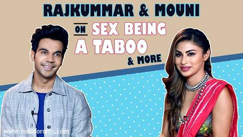 Rajkummar Rao And Mouni Roy Talk About Sex Being A Taboo, Made In China  & More