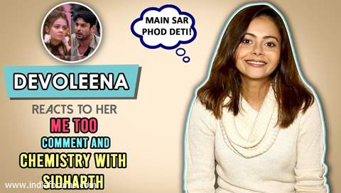 Devoleena Bhattacharjee Reacts To Her Me Too Comment & Chemistry With Sidharth Shukla