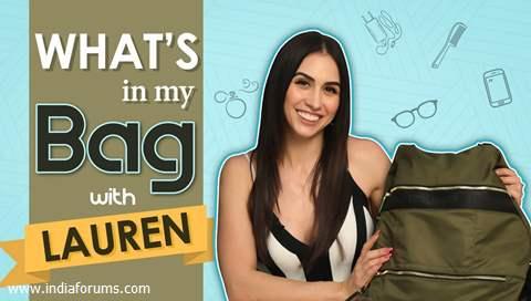 What's In My Bag Ft. Lauren Gottlieb | Bag Secrets Revealed