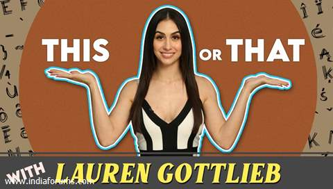 Lauren Gottlieb Plays This Or That With India Forums | IF Exclusive