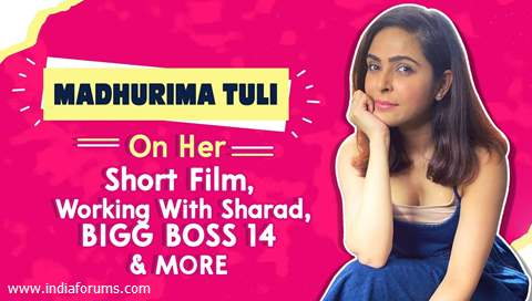 Madhurima Tuli On Her Short Film, Working With Sharad, BIGG BOSS 14 & More